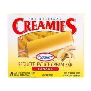 Delicious banana ice cream bar-Creamies