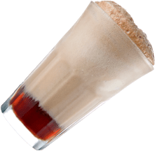 best ice cream flavor, Creamies root beer float bar