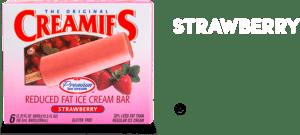 delicious Creamies healthy ice cream bar