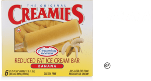 the best ice cream bars are Creamies