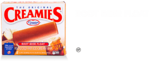 delicious healthy ice cream bar, Creamies root beer float