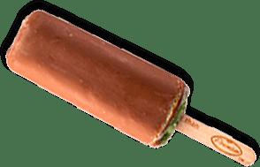 chocolate dipped mint ice cream bar