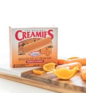 best ice cream flavor, orange Creamies