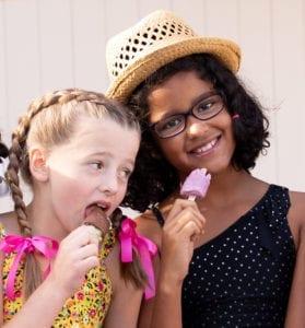 the best ice cream bars are Creamies