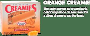 orange ice cream flavor