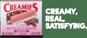 strawberry ice cream bar