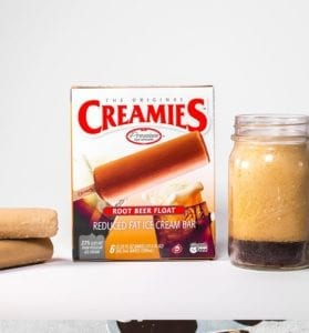 best ice cream Creamies root beer float bar