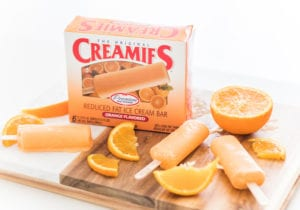 Creamies healthy ice cream bars