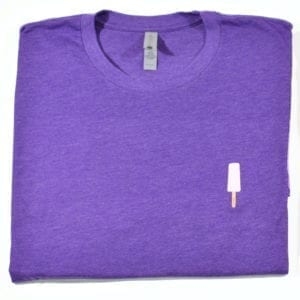 Purple Rush Unisex Banana T-shirt