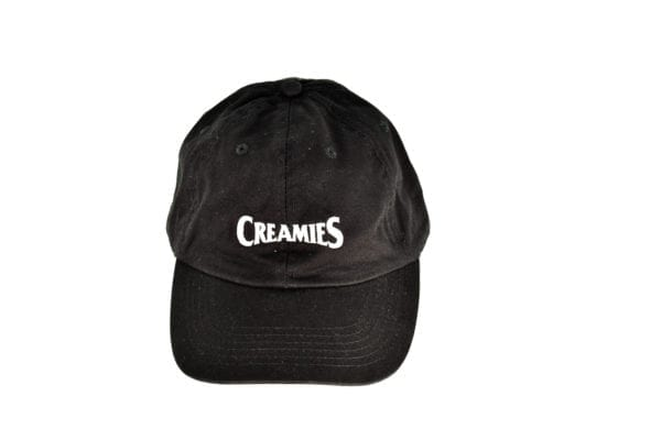 Creamies black dad hat