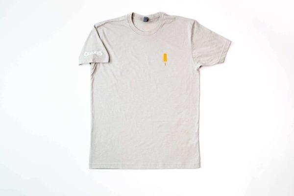 Orange ice cream bar sand t-shirt