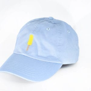 Creamies baby blue banana dad hat