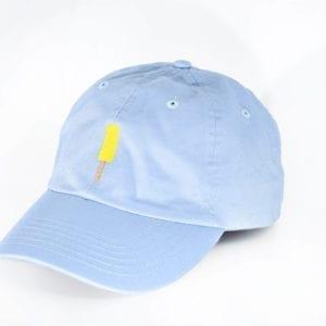Creamies baby blue banana dad hat