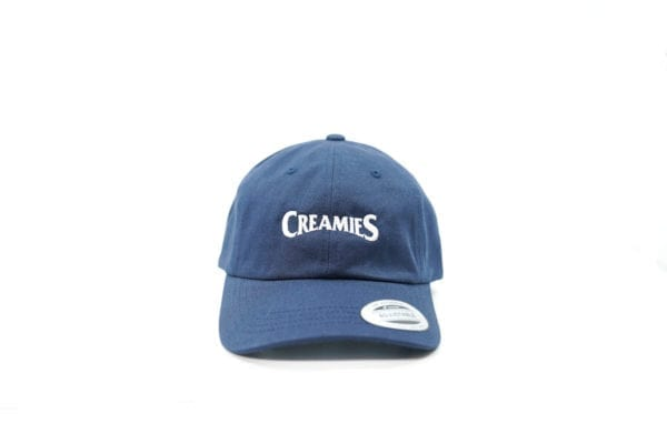 Creamies navy dad hat