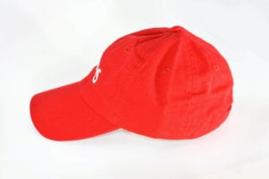 Creamies ice cream red dad hat