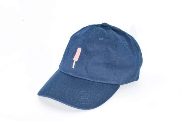 Creamies navy strawberry dad hat