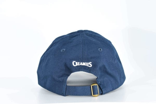 Creamies navy strawberry dad hat