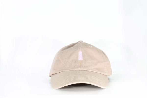 Strawberry Creamies khaki dad hat