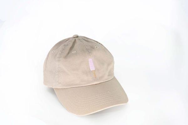 Strawberry Creamies khaki dad hat