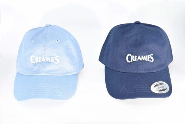 baby blue Creamies Ice Cream dad hat