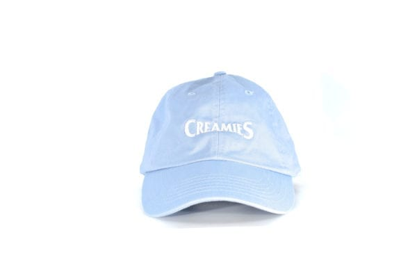 baby blue Creamies Ice Cream dad hat