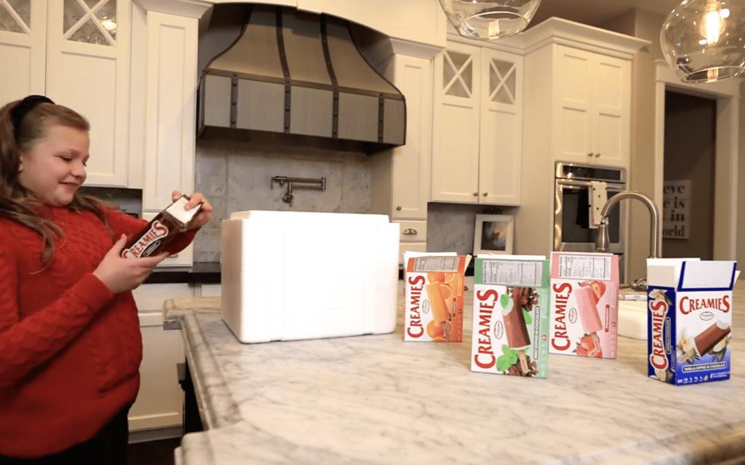Creamies ice cream delivery